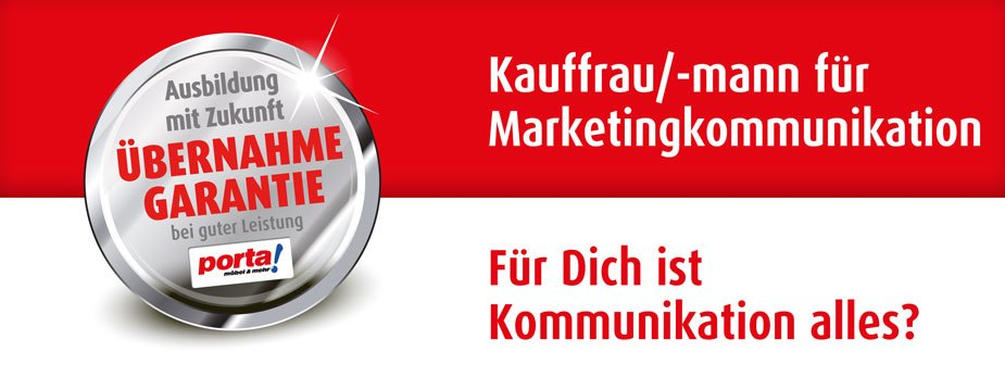 Kauffrau/-mann für Marketingkommunikation