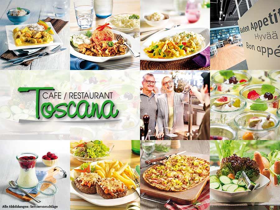 Toscana Restaurant Der Einrichtungshäuser Porta