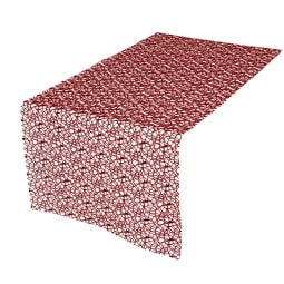 YVE! DECORATION Platzset NETZ in Bordeaux 45 x 35 cm