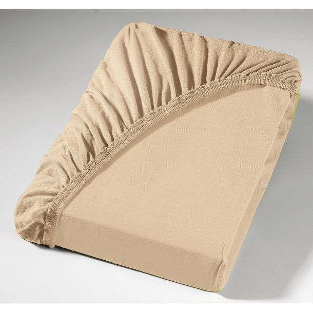 pro night spannbettlaken jersey bergr sse braun hell porta. Black Bedroom Furniture Sets. Home Design Ideas