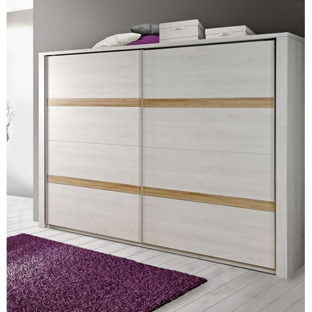 liv 39 in kleiderschrank calais in schneeeiche optik porta. Black Bedroom Furniture Sets. Home Design Ideas