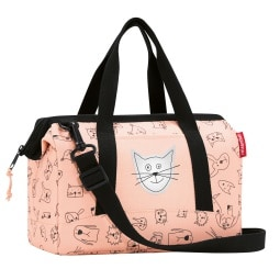 reisenthel Reisetasche ALLROUNDER XS Kids Cats and Dogs rose