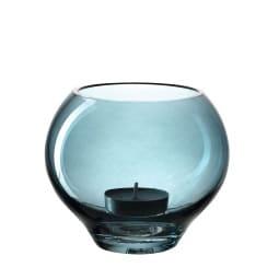 LEONARDO Tischlicht MILANO 9 cm Glas blau
