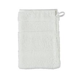 Cawö Waschhandschuh NOBLESSE2 UNI Weiß
