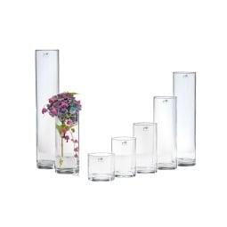 Sandra Rich Vase CYLI 15/20 cm klar