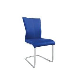 MONDO Esszimmerstuhl AMATI 46 x 103 cm Lederlook blau