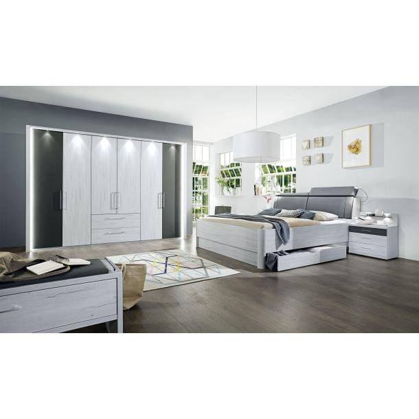 vito schlafzimmer kanada wei eiche nachbildung porta. Black Bedroom Furniture Sets. Home Design Ideas