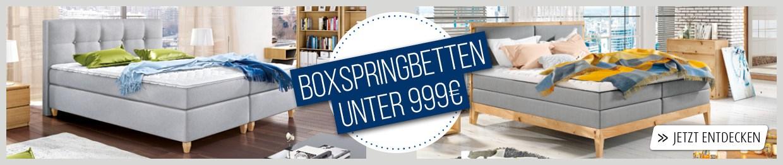 2ecda27f03 Boxspringbetten » Große Auswahl | porta! Online Shop