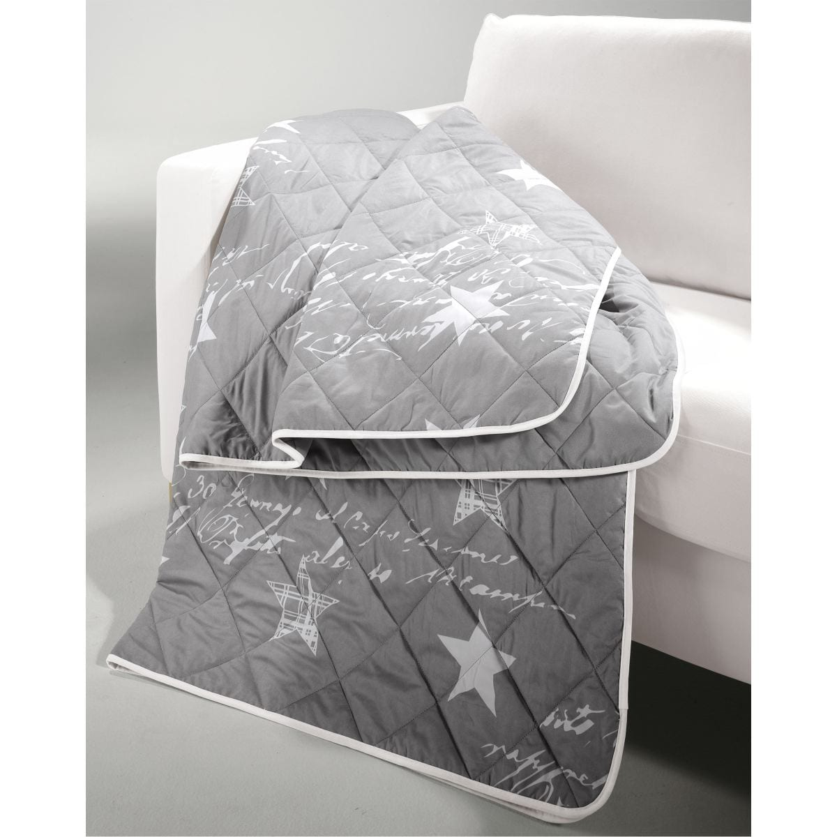 casanova tagesdecke stern grau porta porta m bel. Black Bedroom Furniture Sets. Home Design Ideas