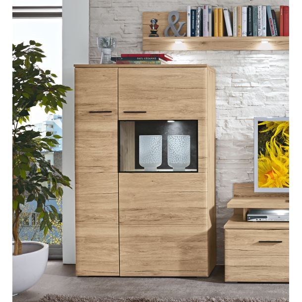 Phill Hill Highboard BARRY in San Remo Sand