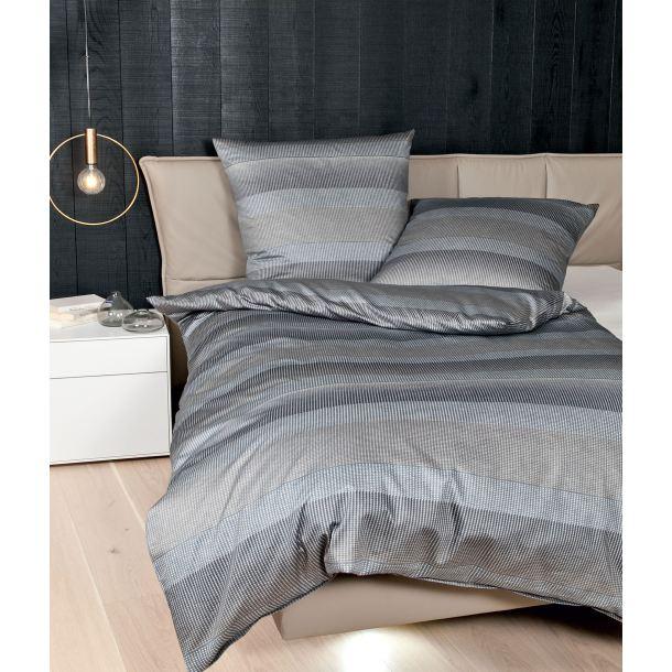 janine bettw sche messina sesam graphit 135 x 200 cm porta. Black Bedroom Furniture Sets. Home Design Ideas