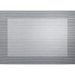 ASA Tischset / Platzset in Silber metallic