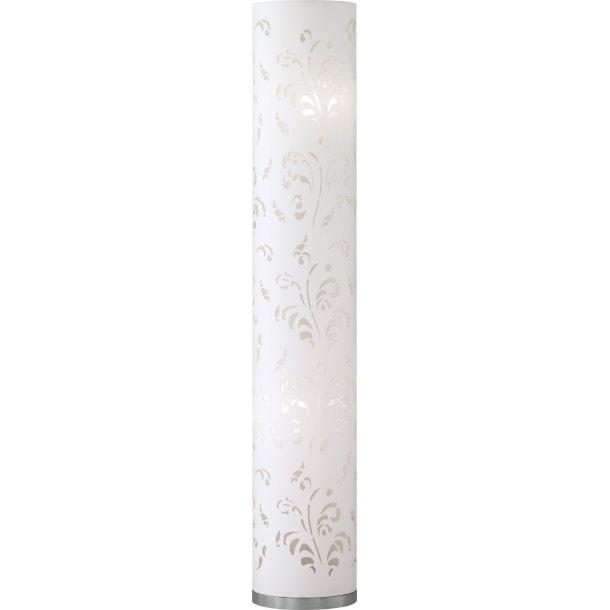 fischer honsel stehlampe 2 flg flora wei mit ornamenten porta. Black Bedroom Furniture Sets. Home Design Ideas