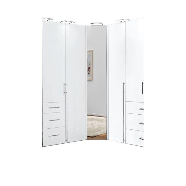 kleiderschrank sydney in wei ca 92 x 236 x 92cm porta. Black Bedroom Furniture Sets. Home Design Ideas