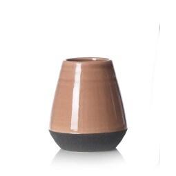 Ritzenhoff & Breker Vase MODINO 17 cm  Keramik braun / schwarz