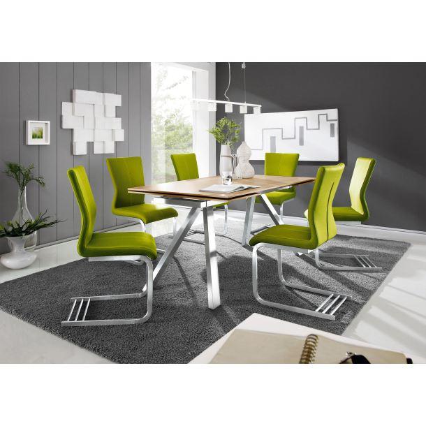 mondo esstisch seta platte eiche sonoma furniert ca 140 220 x 90 cm porta. Black Bedroom Furniture Sets. Home Design Ideas