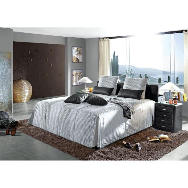 bugatti bett in grau porta porta m bel onlineshop. Black Bedroom Furniture Sets. Home Design Ideas
