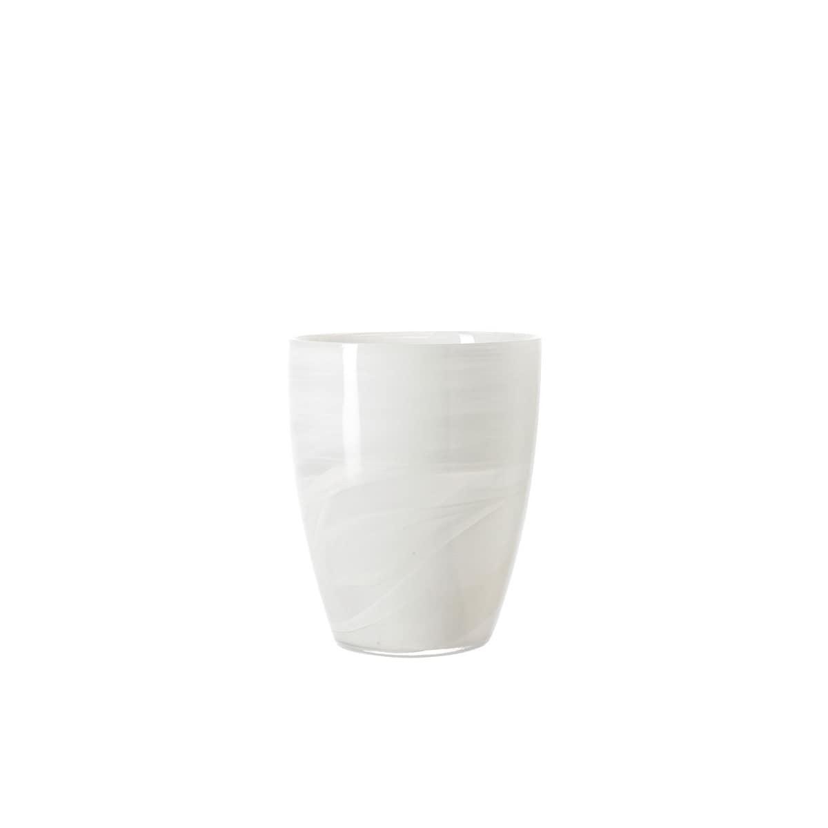 leonardo windlicht vase h 19 alabastro glas alabaster wei porta. Black Bedroom Furniture Sets. Home Design Ideas