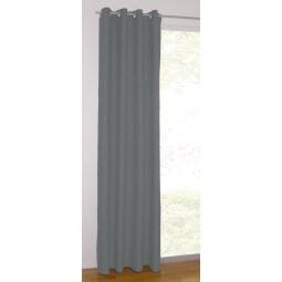 GÖZZE Ösenschal  ALCATRAZ 140 x 245 cm grau/schwarz