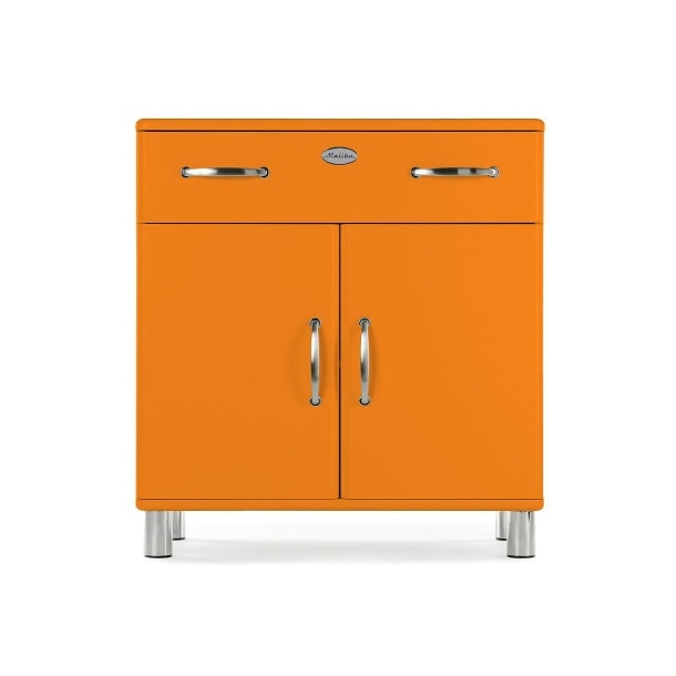 Kommode MALIBU MDF Lack Orange ca. 86 x 92 x 41 cmBild 1