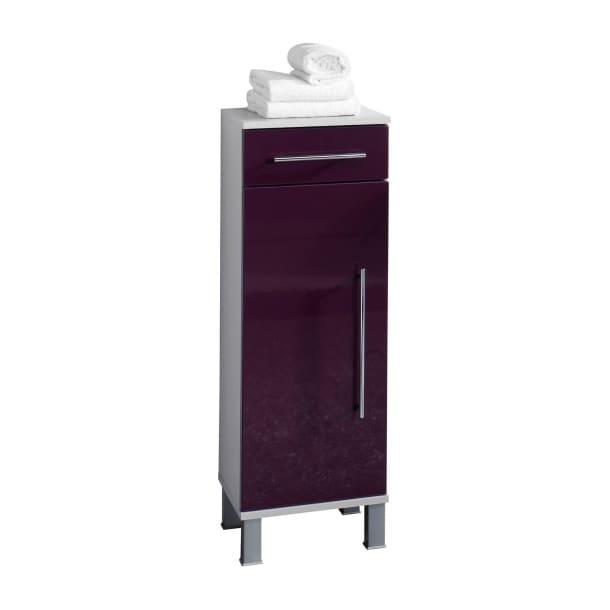 unterschrank brombeere hochglanz ca 32 5 x 96 x 31 5 cm porta. Black Bedroom Furniture Sets. Home Design Ideas