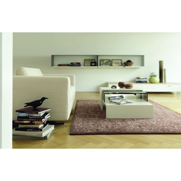 now couchtisch lack wei ca 120 x 20 x 70 cm porta. Black Bedroom Furniture Sets. Home Design Ideas