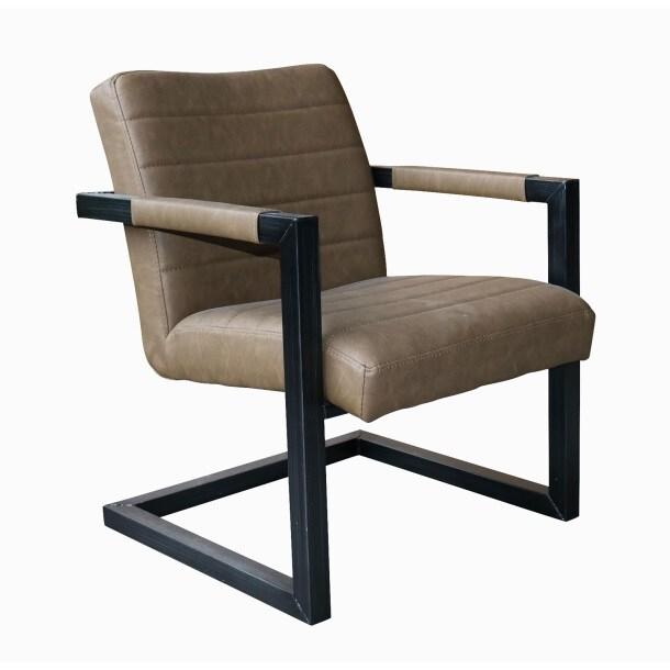 phill hill stuhl daniel kunstleder vintage braun. Black Bedroom Furniture Sets. Home Design Ideas