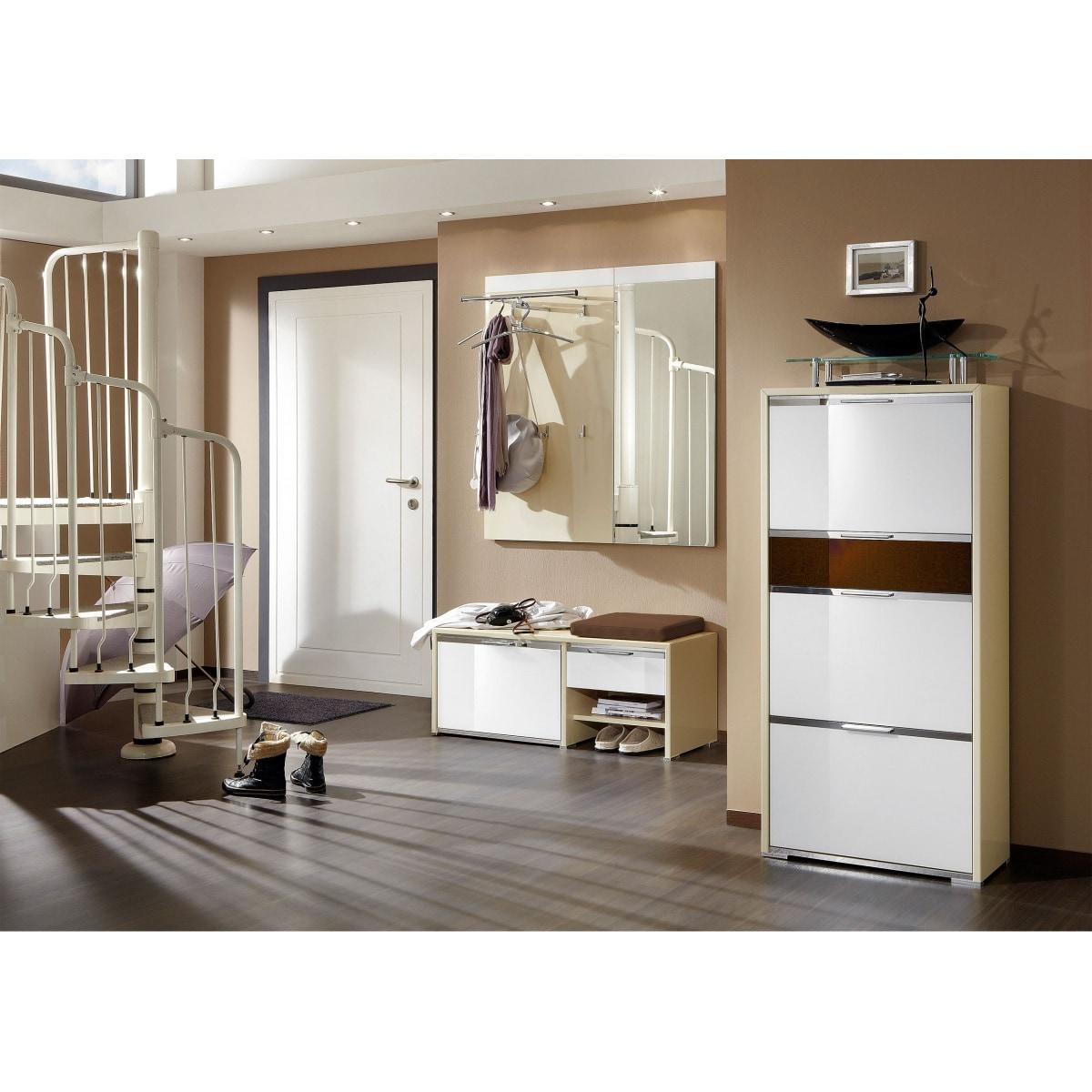 medor schuhschrank icki bardolino eiche ca 80 x 200 x 34. Black Bedroom Furniture Sets. Home Design Ideas