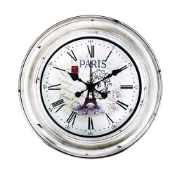 Phill Hill Uhr WOODEN Braun mit Paris-Motiv