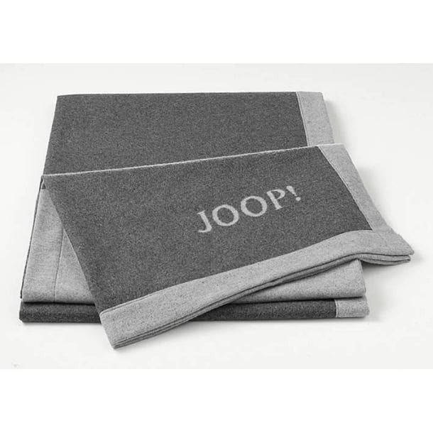 joop wohndecke resort doubleface anthrazit grau porta. Black Bedroom Furniture Sets. Home Design Ideas
