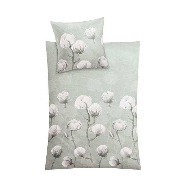 Kleine Wolke Mako Satin Bettwäsche Cotton 155 X 220 Cm Grün