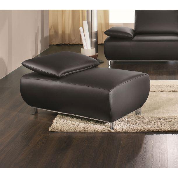 mondo hocker bavero leder schwarz porta. Black Bedroom Furniture Sets. Home Design Ideas
