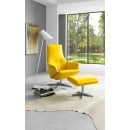MONDO Sessel-Set UP Echtleder Lemon Bild 1