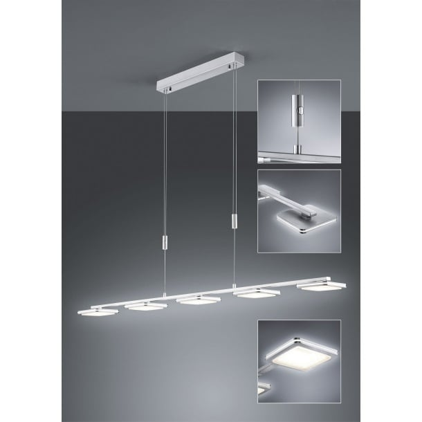 BANKAMP LED Pendellampe MERCURY Lichtpanels Bild 3