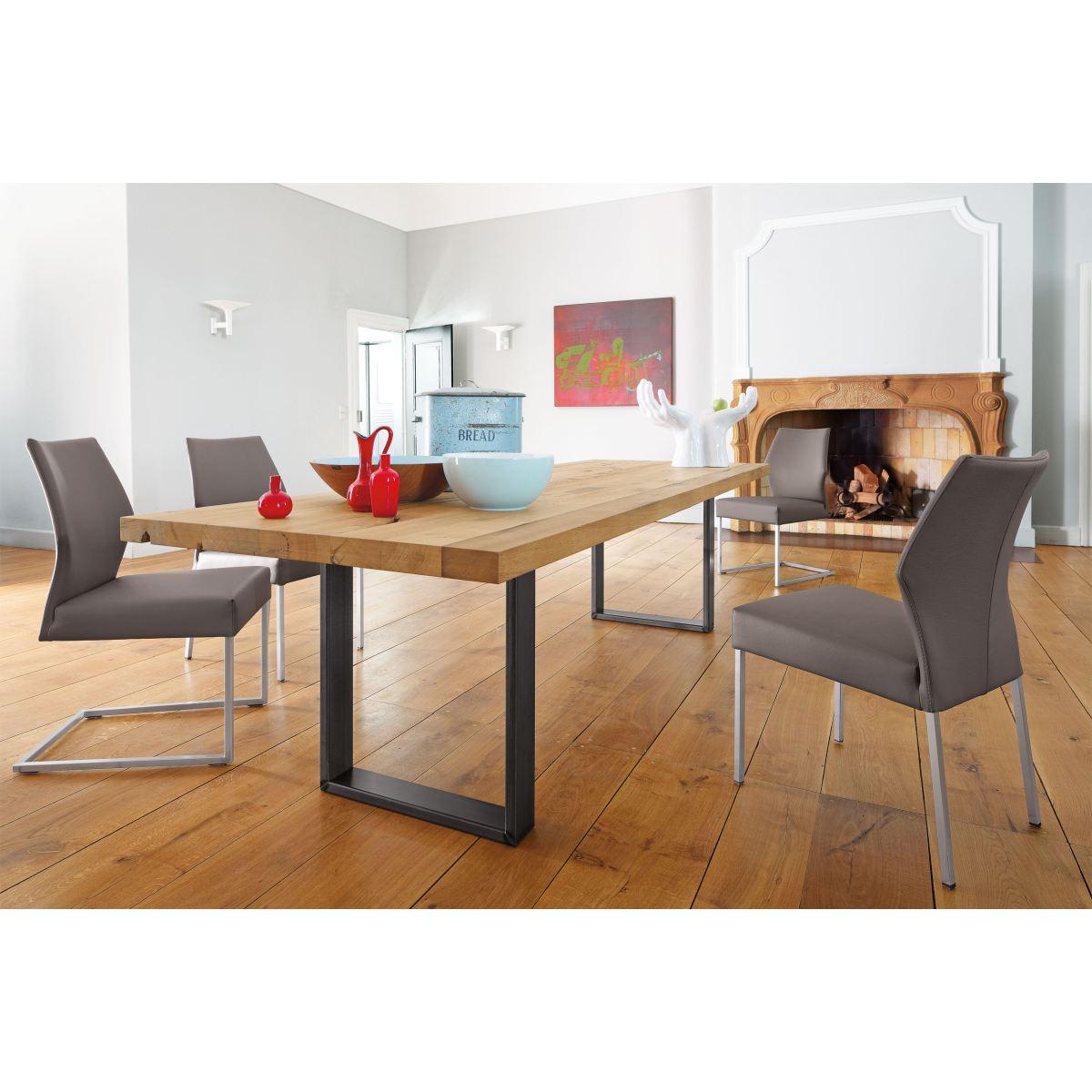 wk wohnen esstisch aus altholz porta porta m bel. Black Bedroom Furniture Sets. Home Design Ideas