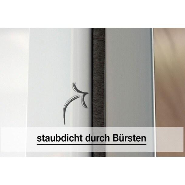 Kleiderschrank BUDDY 150 x 216 x 68 cm Nachbildung polarweißBild 6