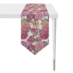 APELT Tischläufer ROSEN 32 x 175 cm Mehrfarbig