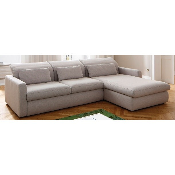 mondo polsterecke barrow stoffbezug hellgrau ca 284 x 195 cm porta. Black Bedroom Furniture Sets. Home Design Ideas