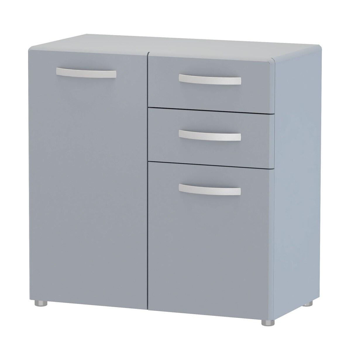 self kommode pia grau nachbildung ca 79 80 41 cm porta. Black Bedroom Furniture Sets. Home Design Ideas