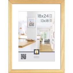Bilderrahmen GÖTEBORG 18 x 24 cm Holz Holzfarben
