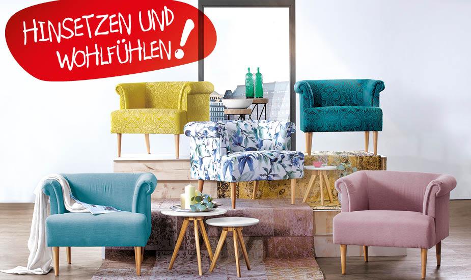 Sessel & XXL-Sessel online kaufen | porta! Shop