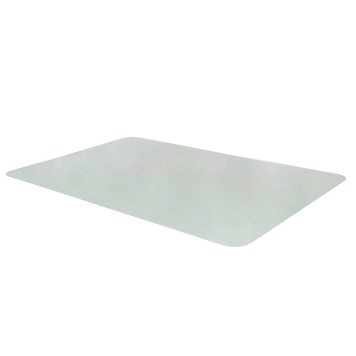 60 x 80 cm transparent Bodenschutzmatte