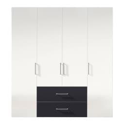 Kleiderschrank NEW JERSEY ADS-I 200 x 58 cm Polarweiß /Polarweiß/Graphit