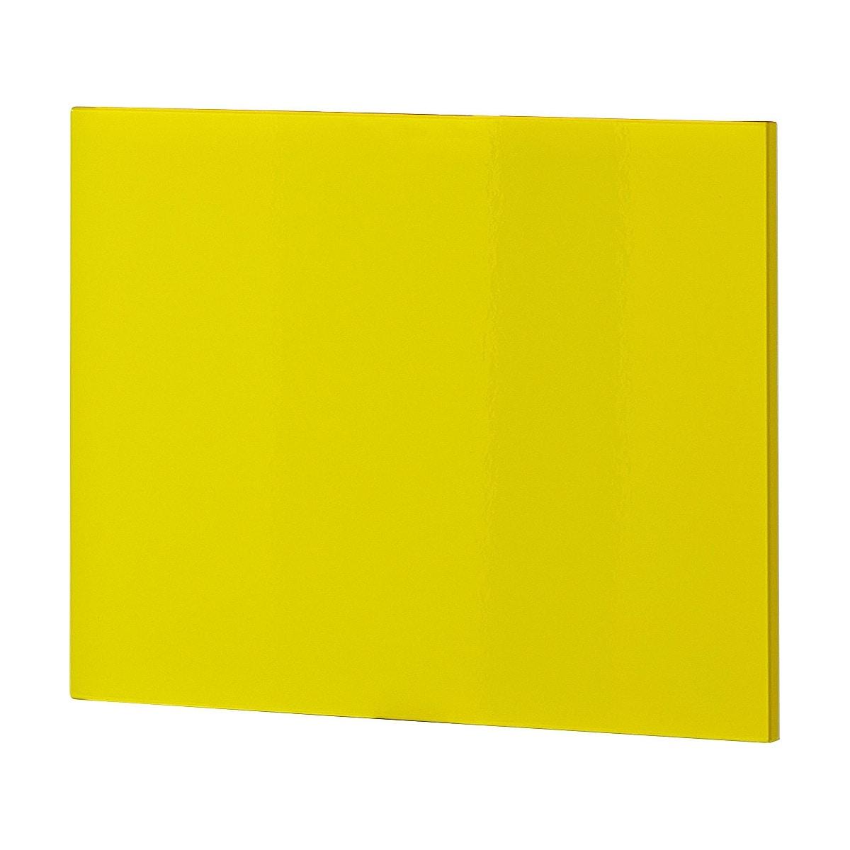 Klappe f r schuhschrank front gelb hochglanz porta for Porta schuhschrank