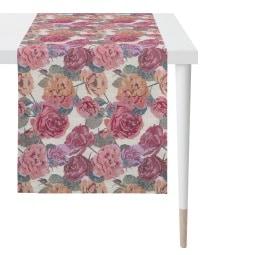 APELT Tischläufer ROSEN 44 x 140 cm Mehrfarbig