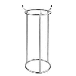 FINK Ständer CARA für Adventskranz 70 cm Metall vernickelt silberfarbig