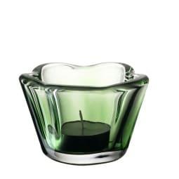 LEONARDO Tischlicht CASOLARE 6 cm Glas grün
