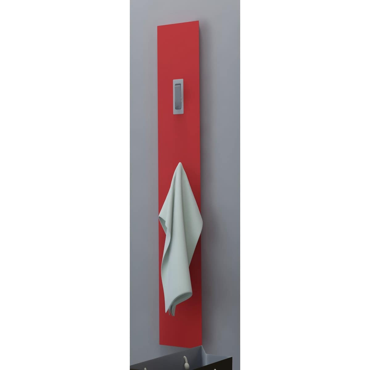 Paneel rot hochglanz lackiert ca 15 x 120 x 2 5 cm porta for Ecksofa porta