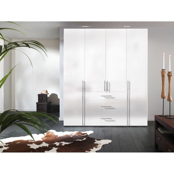 kleiderschrank sydney dreht renschrank in polarwei ca. Black Bedroom Furniture Sets. Home Design Ideas