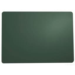ASA Tischset /Platzset LEDER Kalegrün